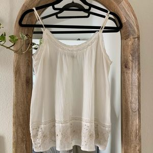 Abercrombie and Fitch Boho Cami Blouse